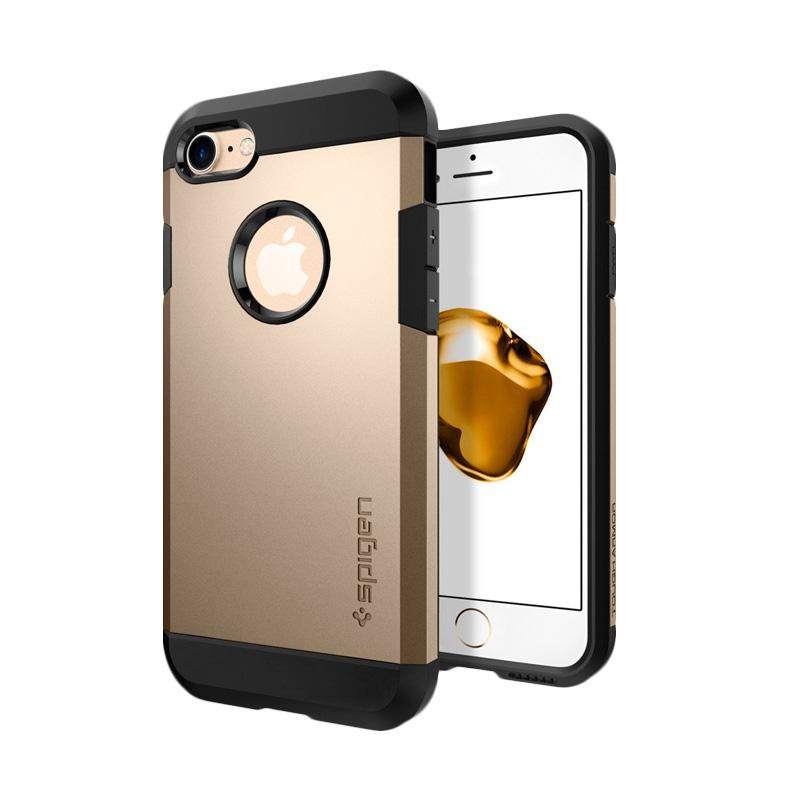 Spigen Tough Armor Casing for iPhone 7 - Champagne Gold