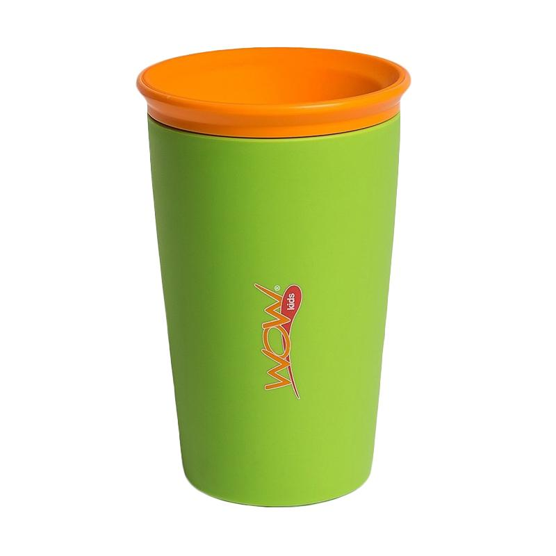 Wow Kids Spill Free 360 Derajat Drinking Cup - Green