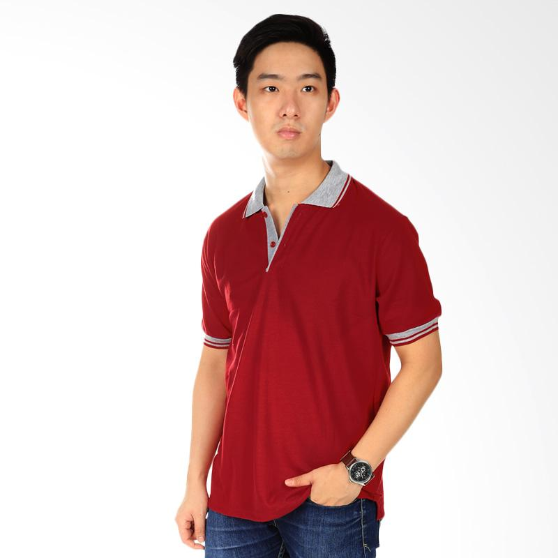 Elfs Shop Polo Shirt Pria - Maroon Extra diskon 7% setiap hari Extra diskon 5% setiap hari Citibank – lebih hemat 10%