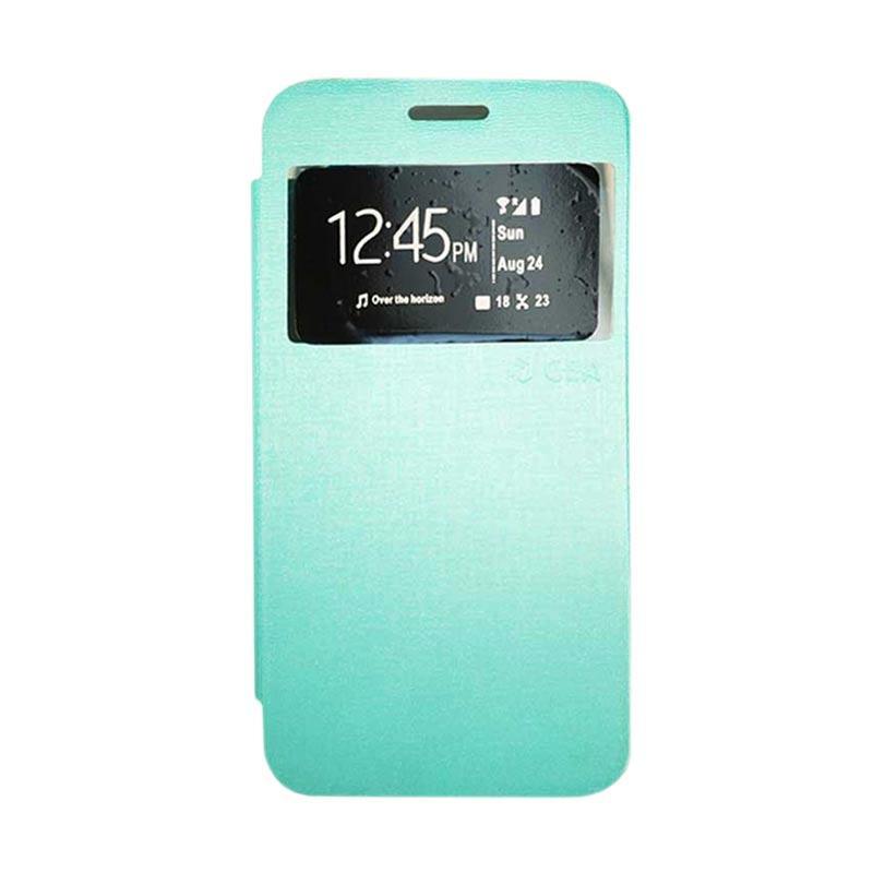 premium selection 1117f c0a26 Gea Flip Cover Casing for Samsung Galaxy Core 2 G355H - Hijau