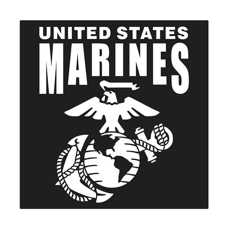 Kyle United States Marine Cutting Sticker