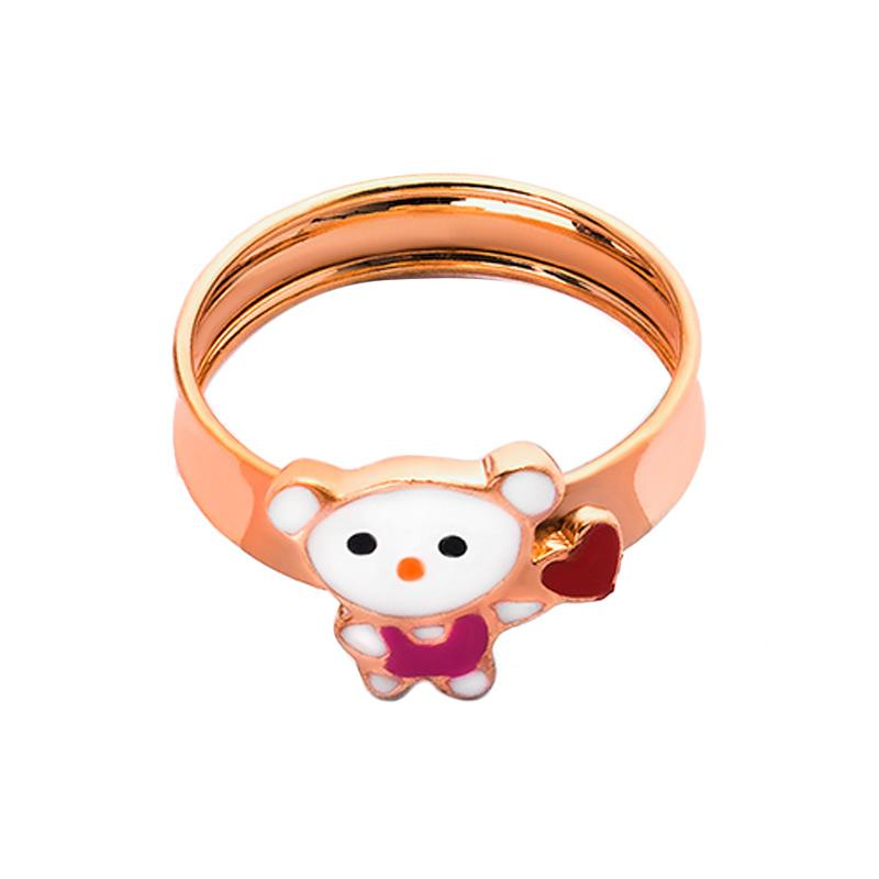 WhizLiz White Bear Kids Cincin Anak