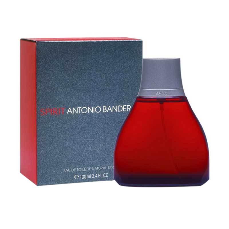 Antonio Banderas Spirit EDT Parfum Pria [100 mL] Ori Tester Non Box