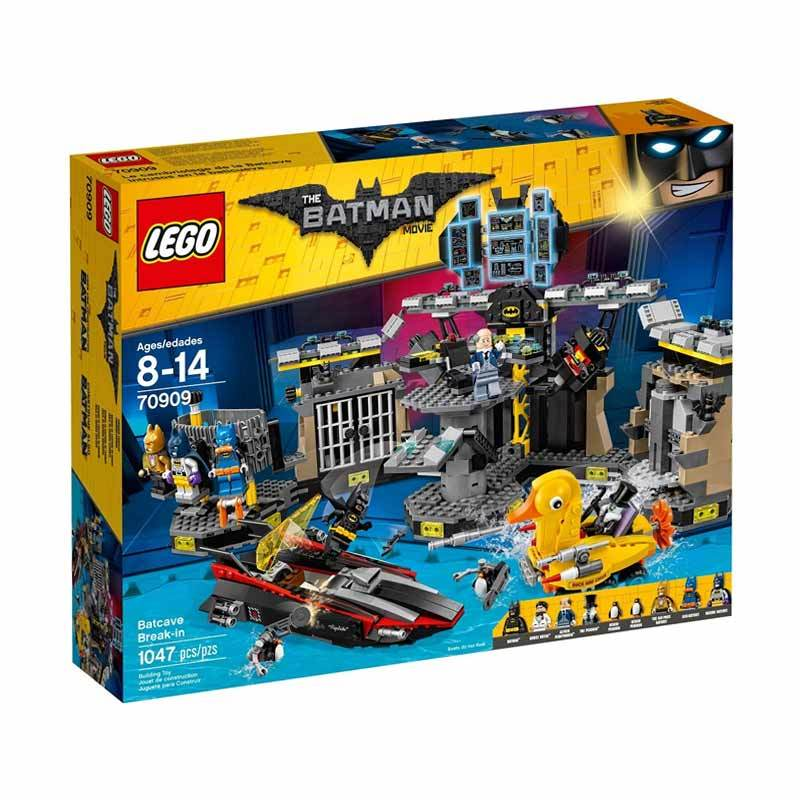 LEGO 70909 The Lego Batman Movie Batcave Break-In Mainan Blok & Puzzle