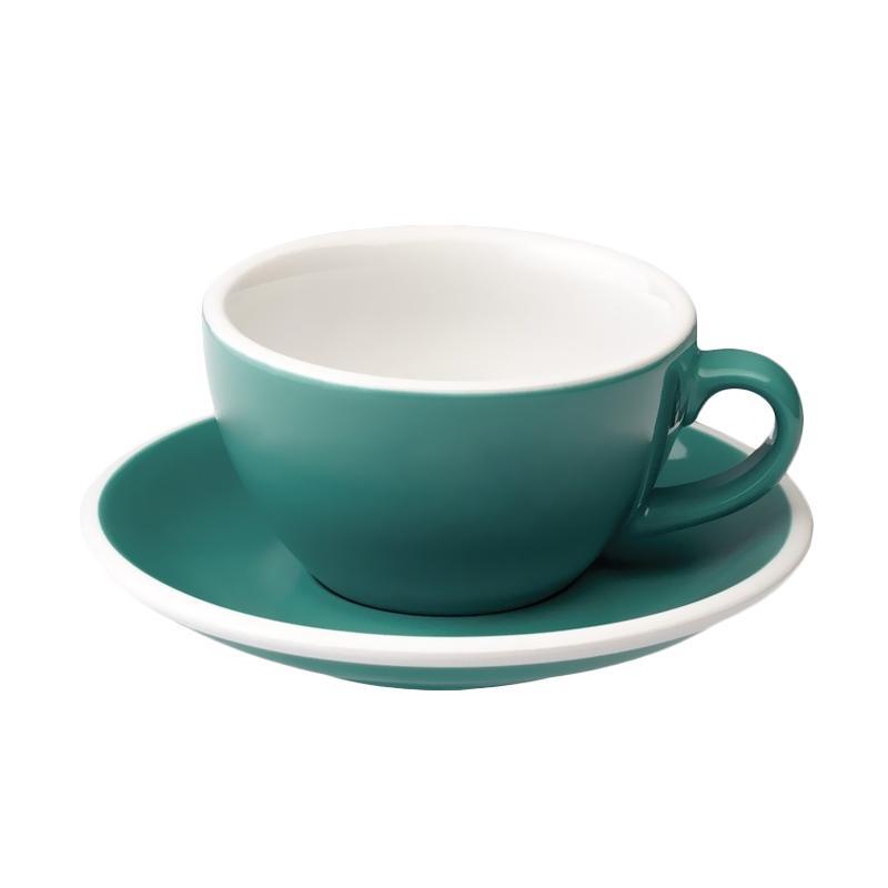 Loveramics Egg Cappuccino Cup & Saucer - Teal [200 mL]