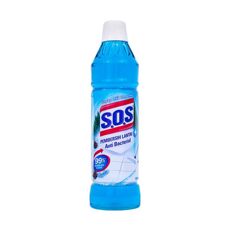 SOS Magic Pine Botol Pembersih Lantai [800 mL]
