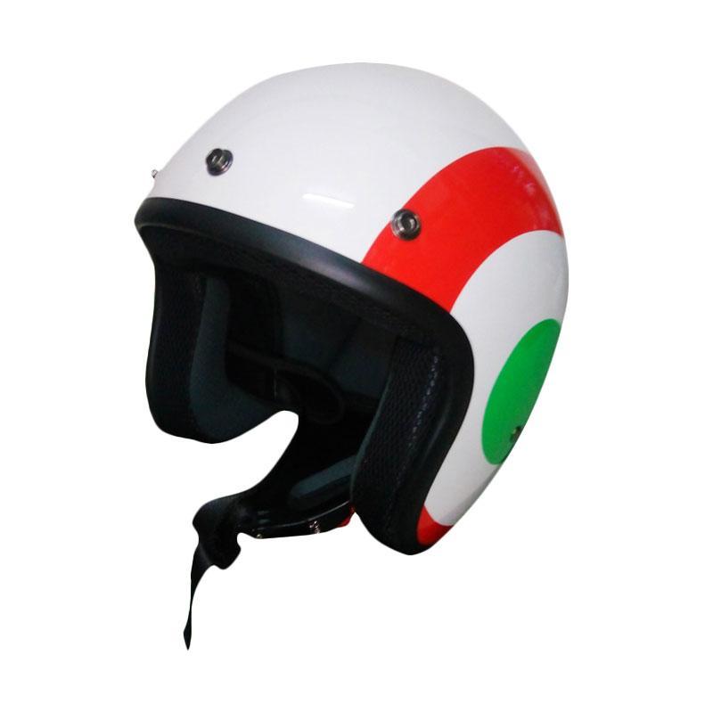 Vespa Jet Touch Helm Half Face - Italian Flag