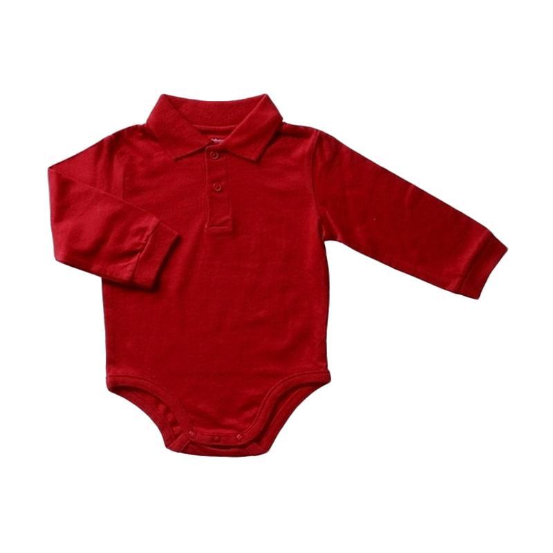Bearhug Bodysuit Bayi Laki-laki - Merah[3/24M]