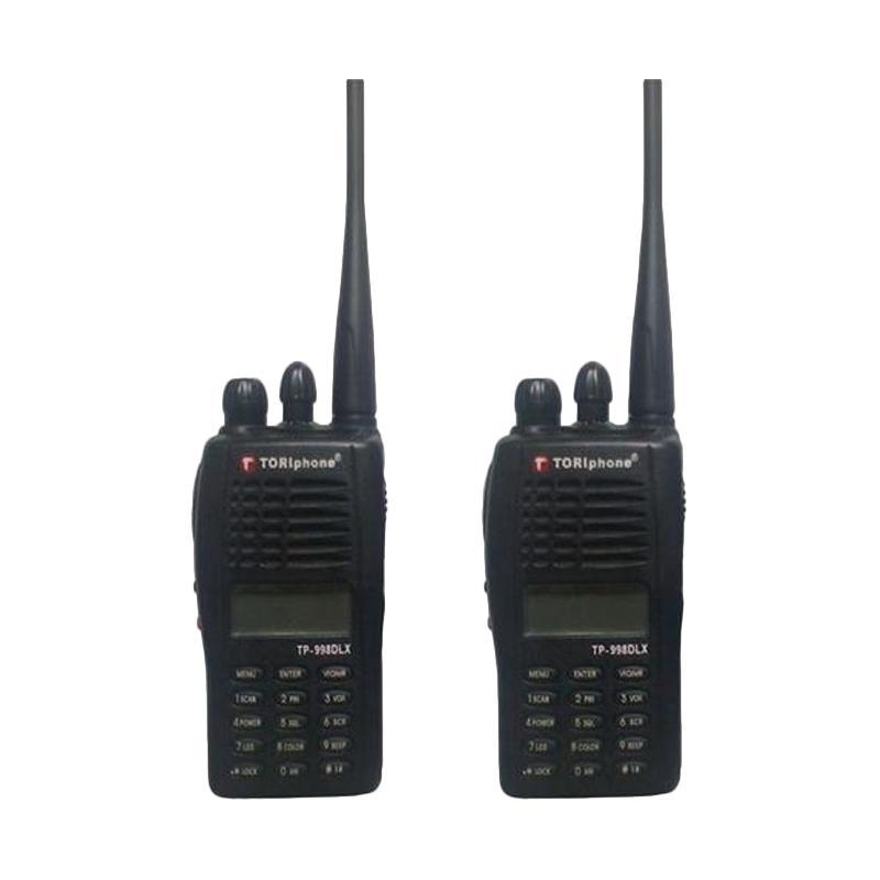 Toriphone TP-998DLX Walkie Talkie - Hitam