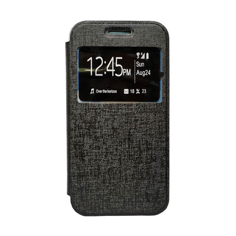 harga Zagbox Flip Cover Casing for Xiaomi Redmi Mi4i - Hitam Blibli.com