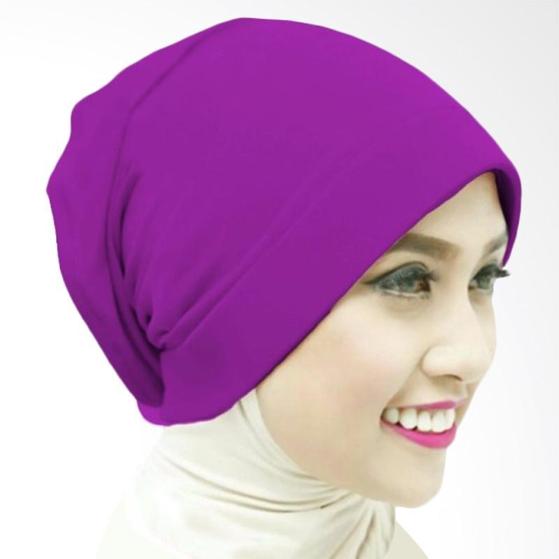 Milyarda Naura Hijab Ciput - Ungu