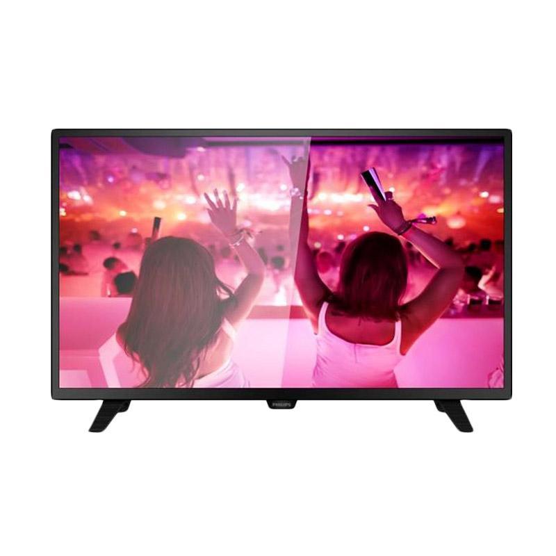 PHILIPS 32PHT4002S/70 DVB T2 TV LED  hanya jadetabek- Black [32 Inch]