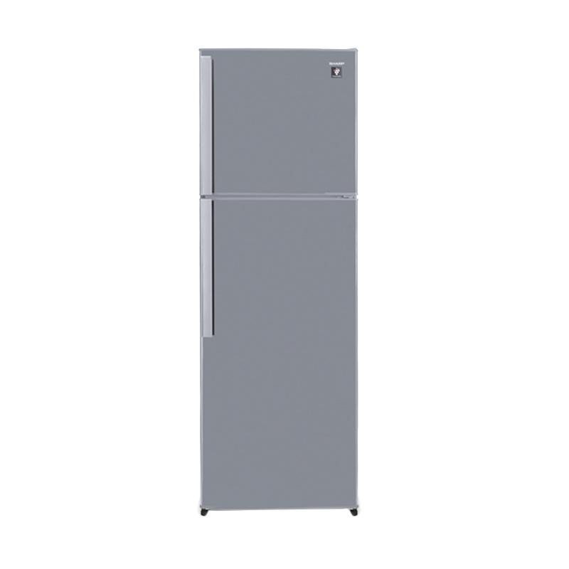 SHARP SJ450GPSD Two Door Refrigerator Kulkas