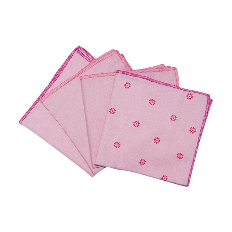 Boogybaby Washcloth Pink Isi 4 Kode A