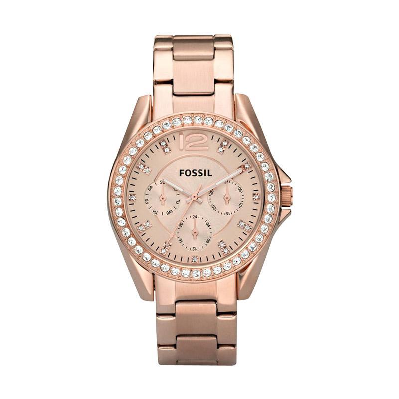 harga Fossil ES2811 Jam Tangan Wanita - Rose Gold Blibli.com
