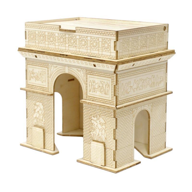 Kigumi Arc De Triomphe 3D Puzzle