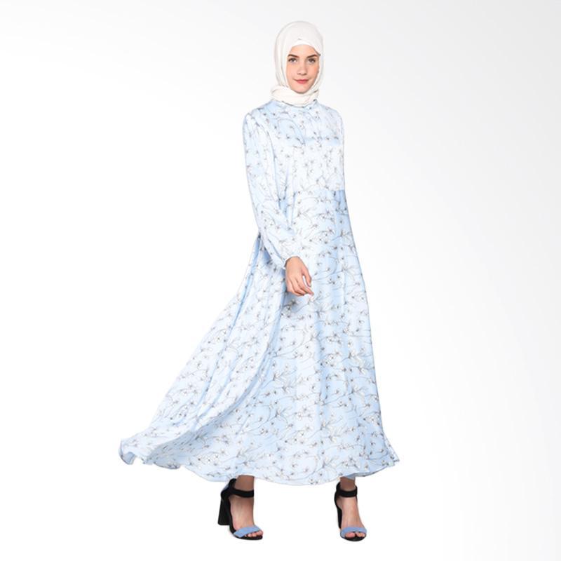 Rauza Rauza Furly Dress - Biru