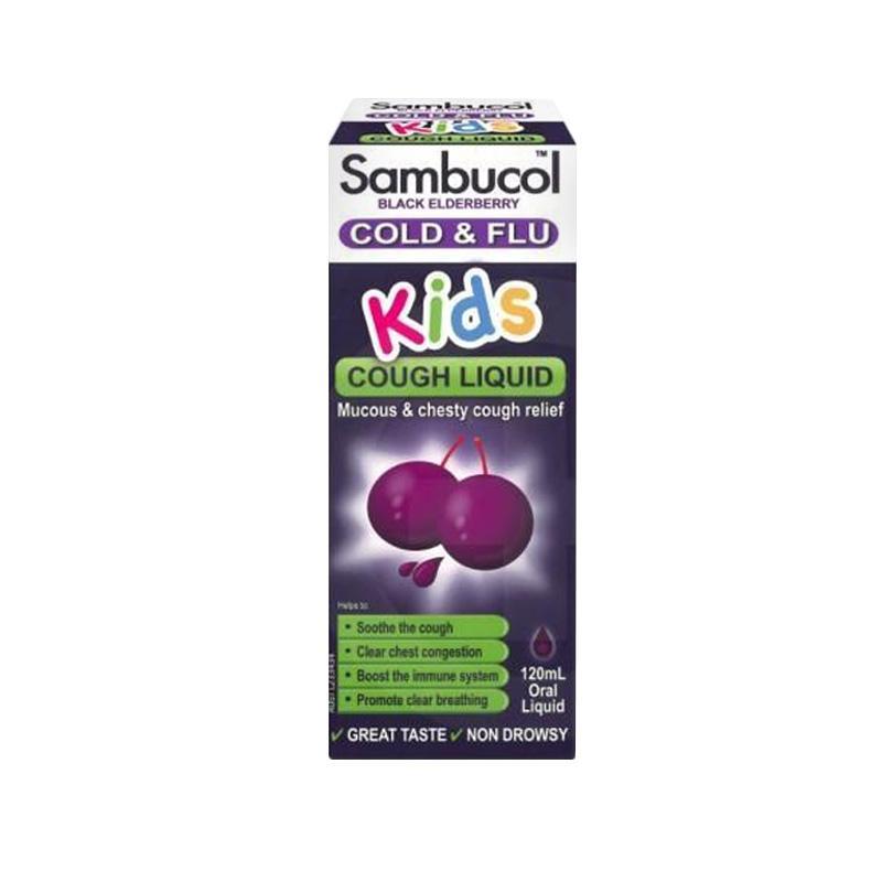 Sambucol Kids Cough Liquid 120 ml (AUS Version)