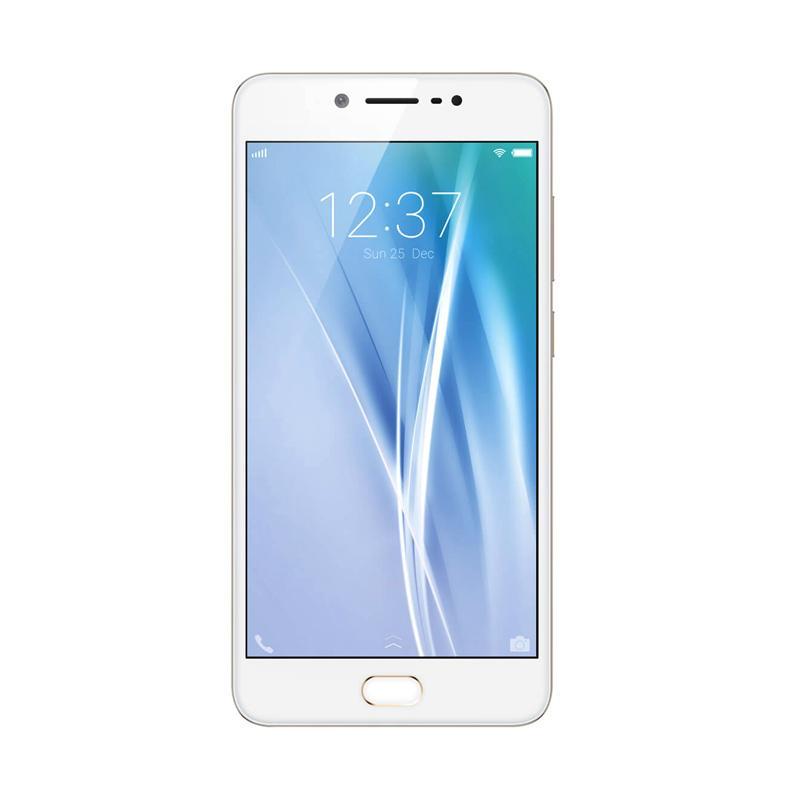 Daily Deals - VIVO V5 Plus Smartphone - Gold [RAM 4GB/64GB] - 9312056 , 16381145 , 337_16381145 , 4699000 , Daily-Deals-VIVO-V5-Plus-Smartphone-Gold-RAM-4GB-64GB-337_16381145 , blibli.com , Daily Deals - VIVO V5 Plus Smartphone - Gold [RAM 4GB/64GB]