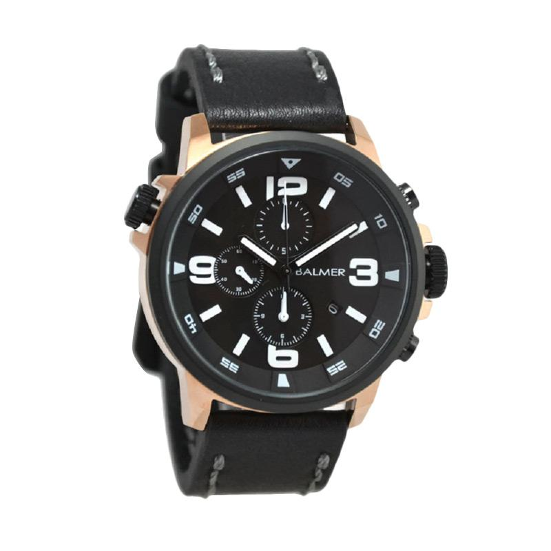 Balmer B.7903MR Jam Tangan Pria - Black Rose Gold