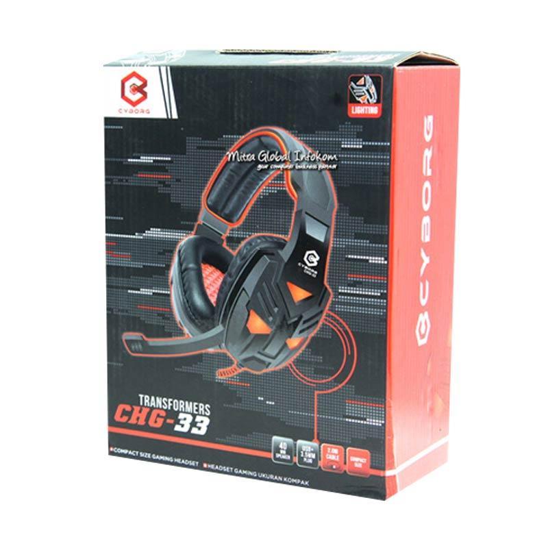 harga CYBORG CHG-33 Superheroes Headset Gaming Blibli.com