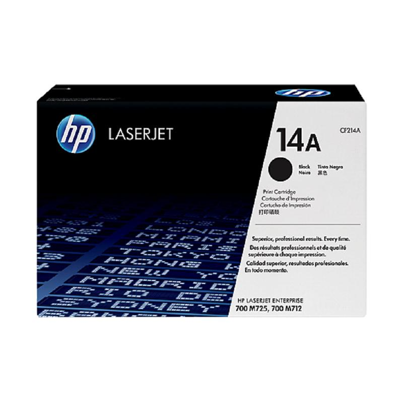 harga HP 14A Original LaserJet Toner Cartridge - Black Blibli.com