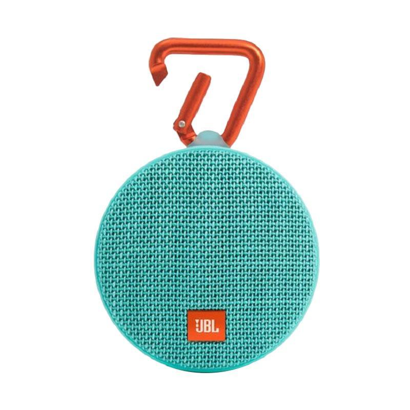 JBL CLIP2 Portable Bluetooth Speaker - Hijau