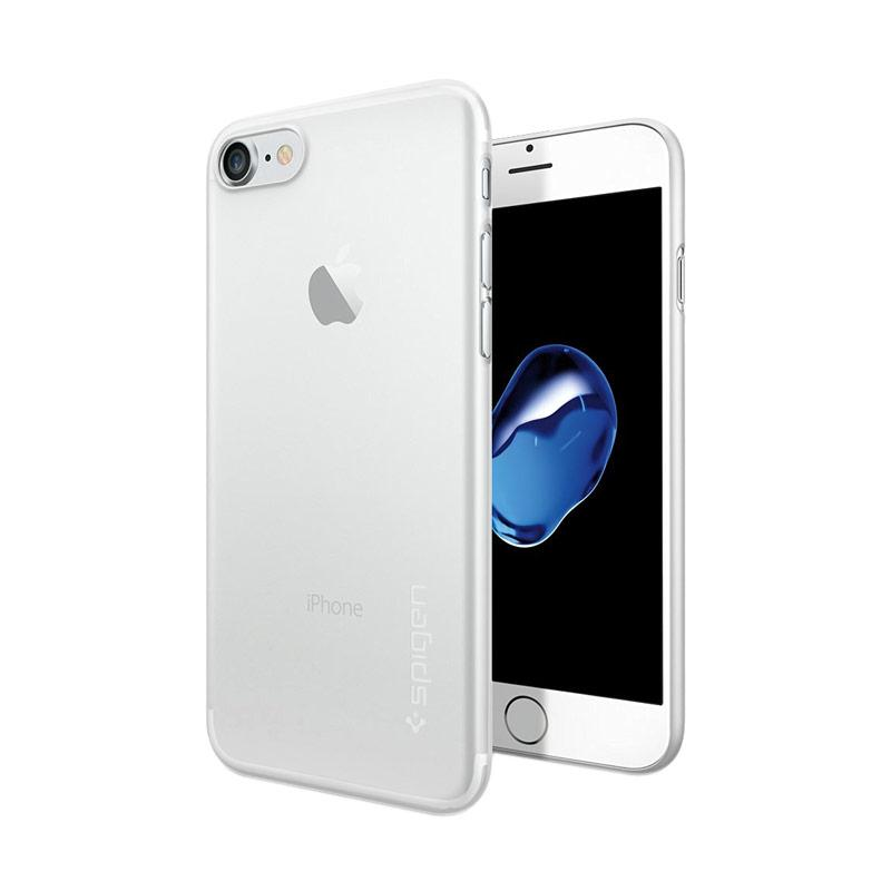 harga Spigen Air Skin Casing for iPhone 7 - Soft Clear [042CS20487] Blibli.com
