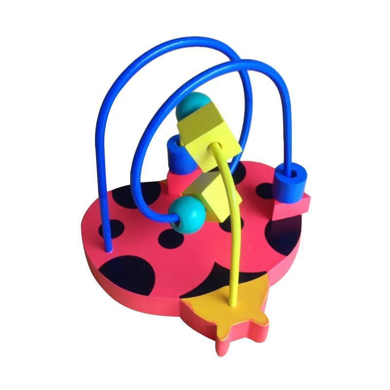 Wooden Toys Alur Kawat Kepik  Mainan Anak