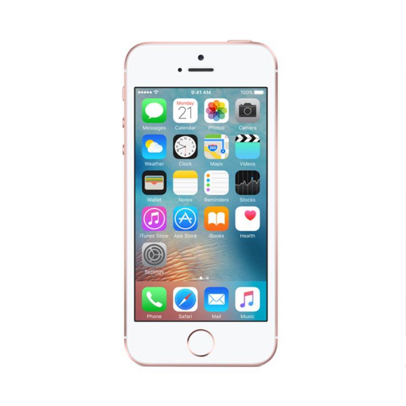 Apple iPhone SE 16 GB Rose Gold (Belum Aktif&Bukan Korea/Japan] - 9294467 , 15516230 , 337_15516230 , 4088000 , Apple-iPhone-SE-16-GB-Rose-Gold-Belum-AktifampampBukan-Korea-Japan-337_15516230 , blibli.com , Apple iPhone SE 16 GB Rose Gold (Belum Aktif&Bukan Korea/Japan]