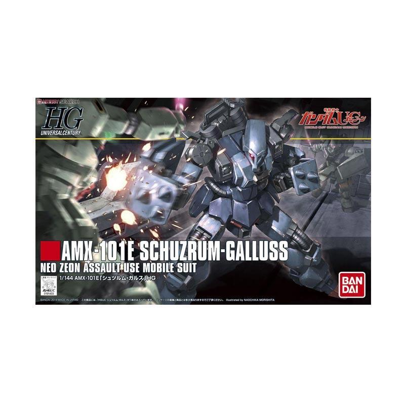 Bandai HGUC Schuzrum Galluss Model Kit [1:144]