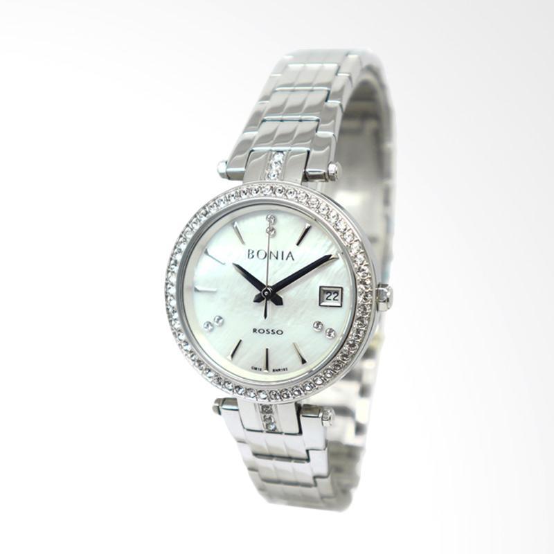Bonia BNR102-2352S Jam Tangan Wanita - Silver Gold