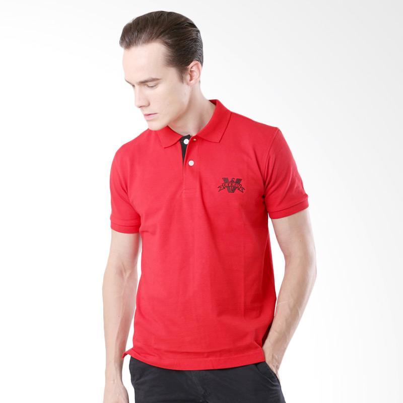 Efesu Men Polo Big Bail Kaos Polo Pria - Red Extra diskon 7% setiap hari Extra diskon 5% setiap hari Citibank – lebih hemat 10%