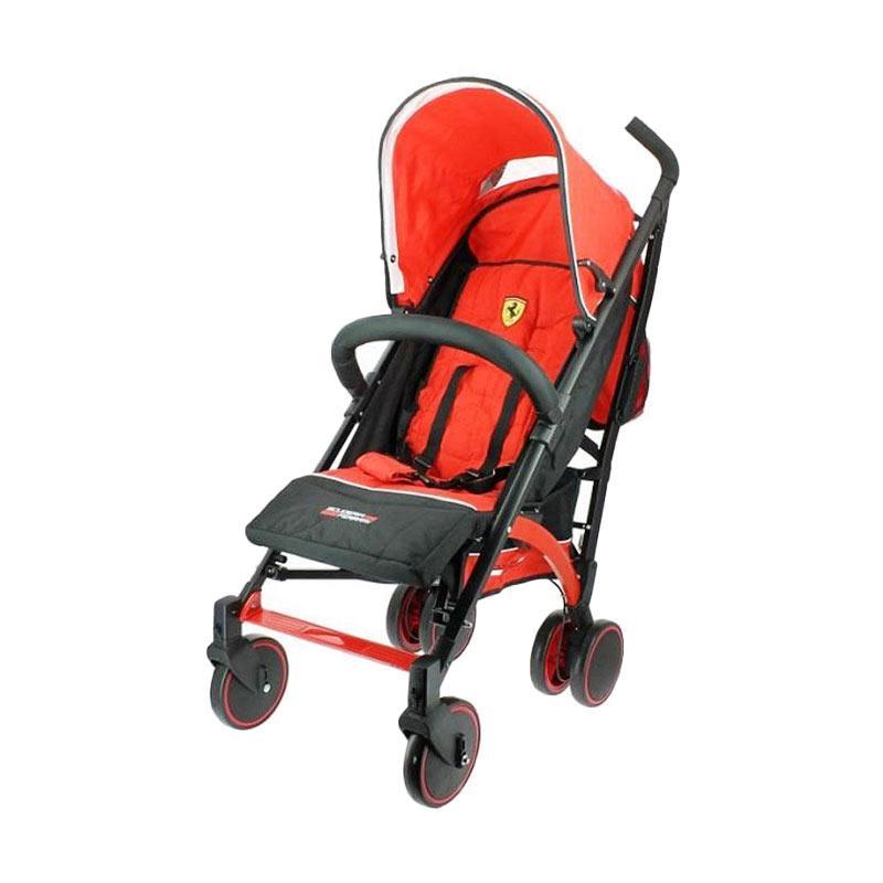 Ferrari Canne Jess D200 Baby Stroller - Red