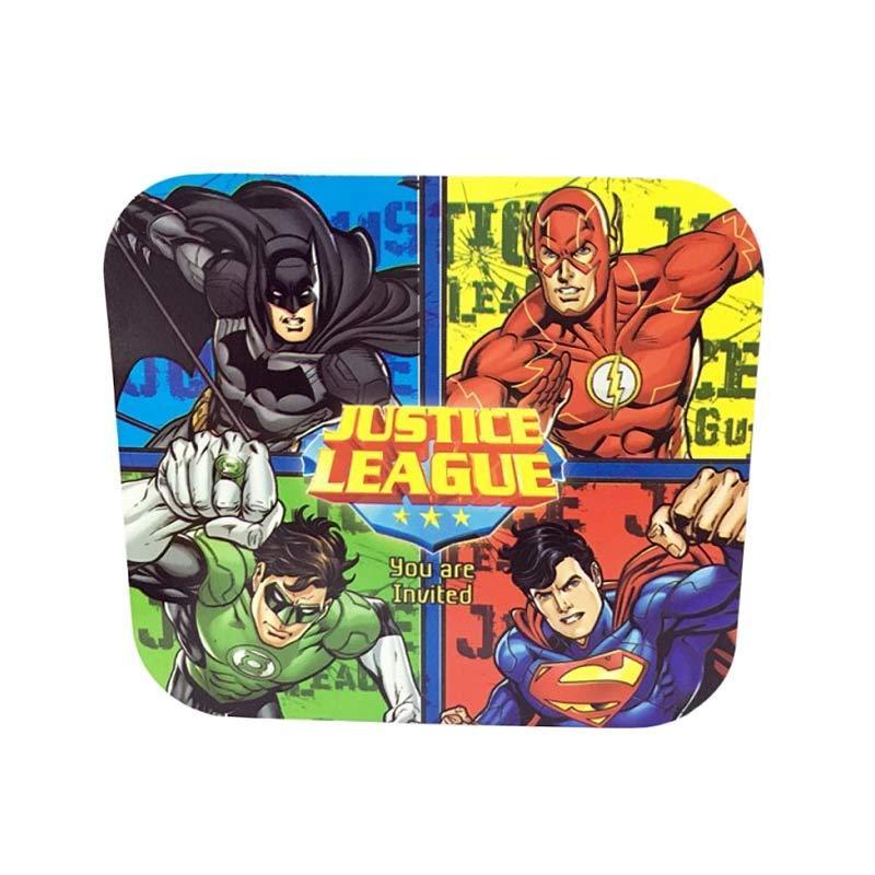 Justice League Invitation Card Tipe 2 Kartu Undangan