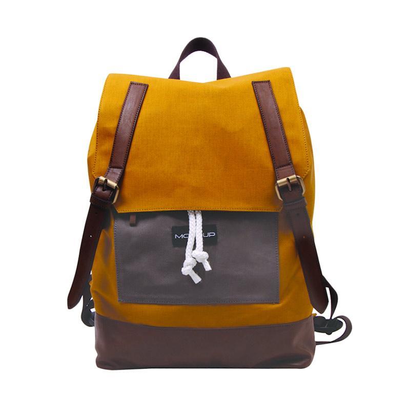 Mock Up BBP.57 Daily Unisex Backpack - Camel