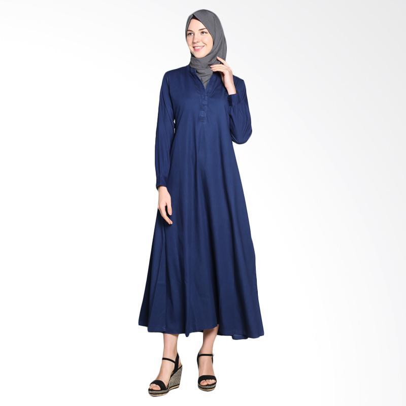 Allev 808.DNM.NJH Najmah Dress Muslim - Denim