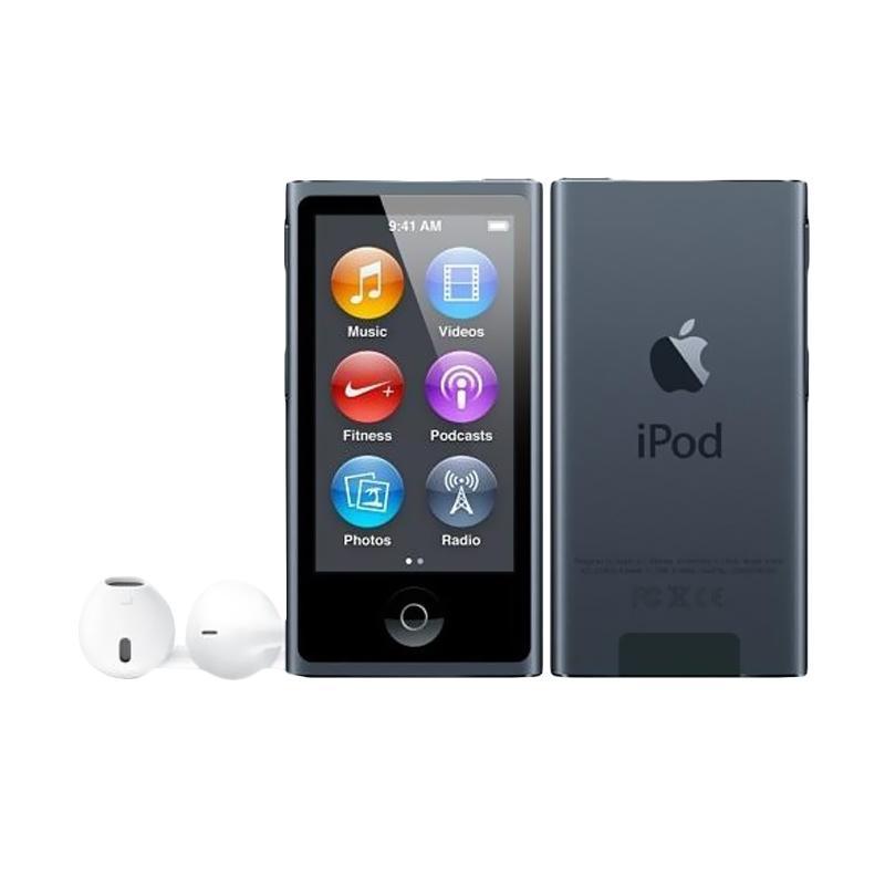 harga Apple iPod Nano 7 16 GB Portable Player - Grey Blibli.com