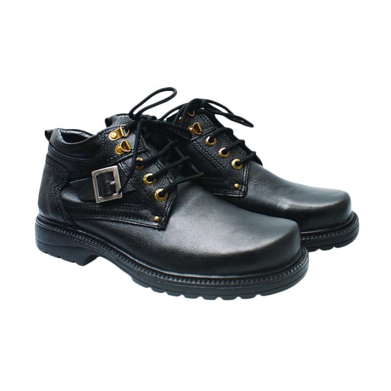 Basama Soga 712 Sepatu Boots Pria - Hitam