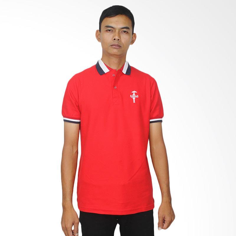 Fyasko Wangki RWB Man Polo Shirt - Red Extra diskon 7% setiap hari Extra diskon 5% setiap hari Citibank – lebih hemat 10%