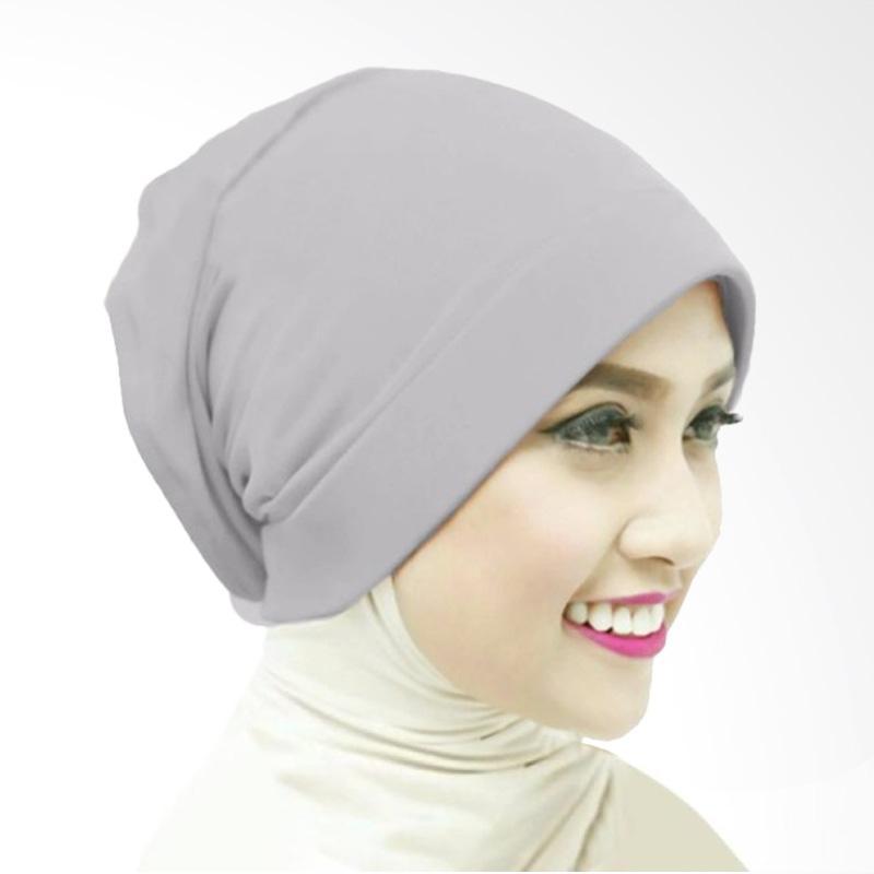 Milyarda Naura Hijab Ciput - Abu-Abu
