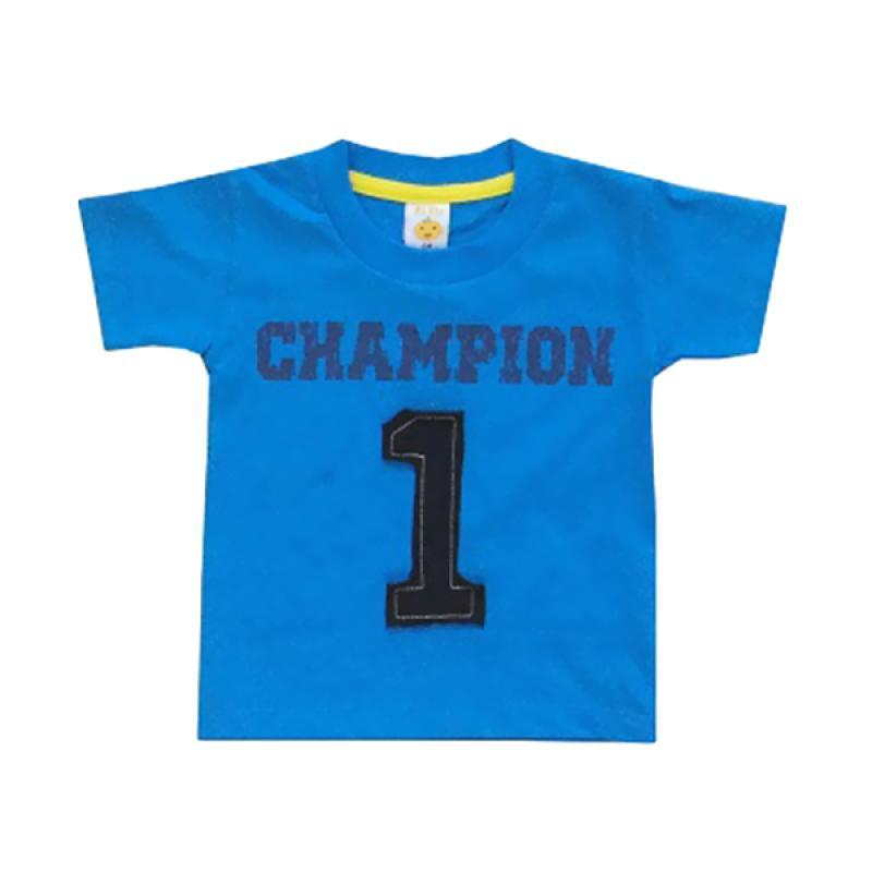 PLEU Ts Champion Atasan Anak Laki Laki - Blue