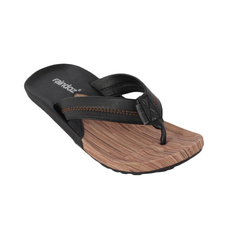 Raindoz Sandals RLR 306 Stripe Sandal Pria - Brown
