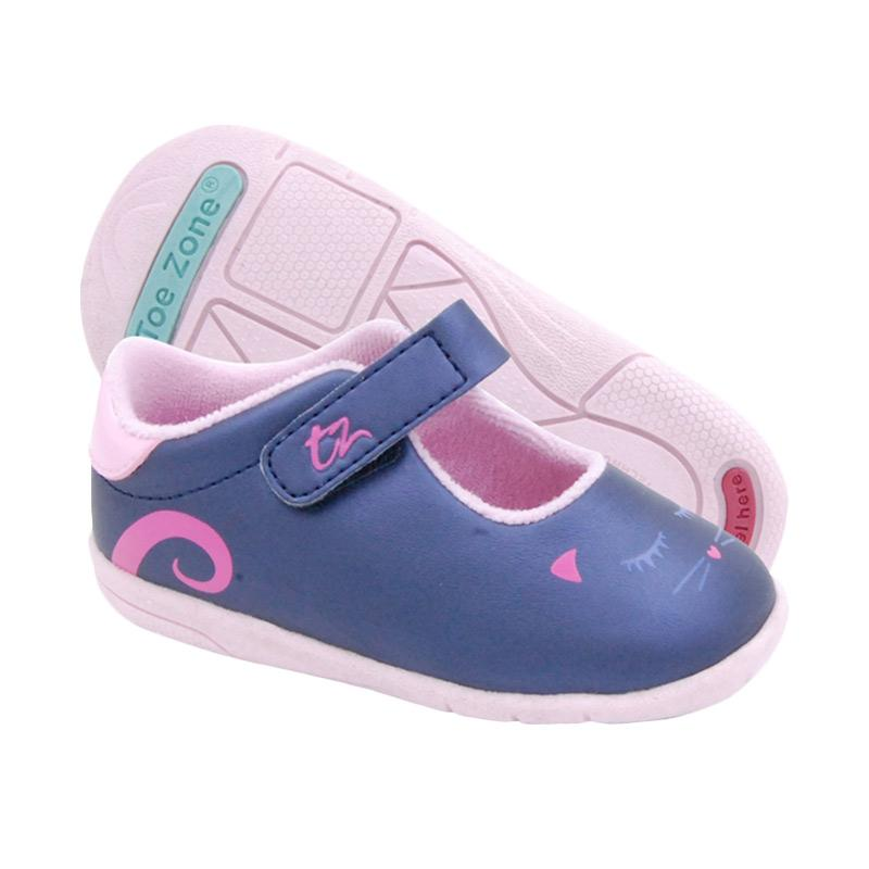 Toezone Kids Emma Fs Sepatu Anak - Navy Pink