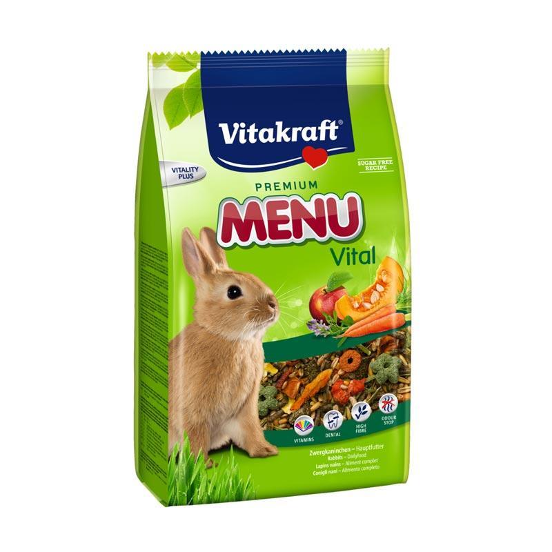 Menu Vital Rabbit Makanan Kelinci [3 kg]