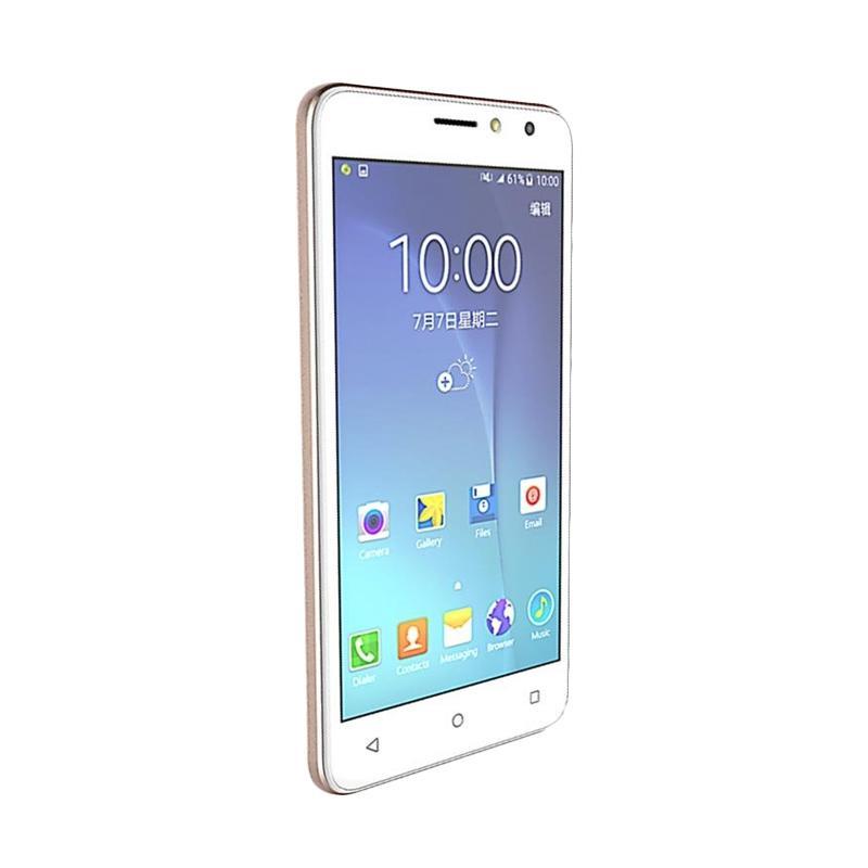 Advan S5E 4G LTE Smartphone - Gold [8GB/1GB/Resmi]