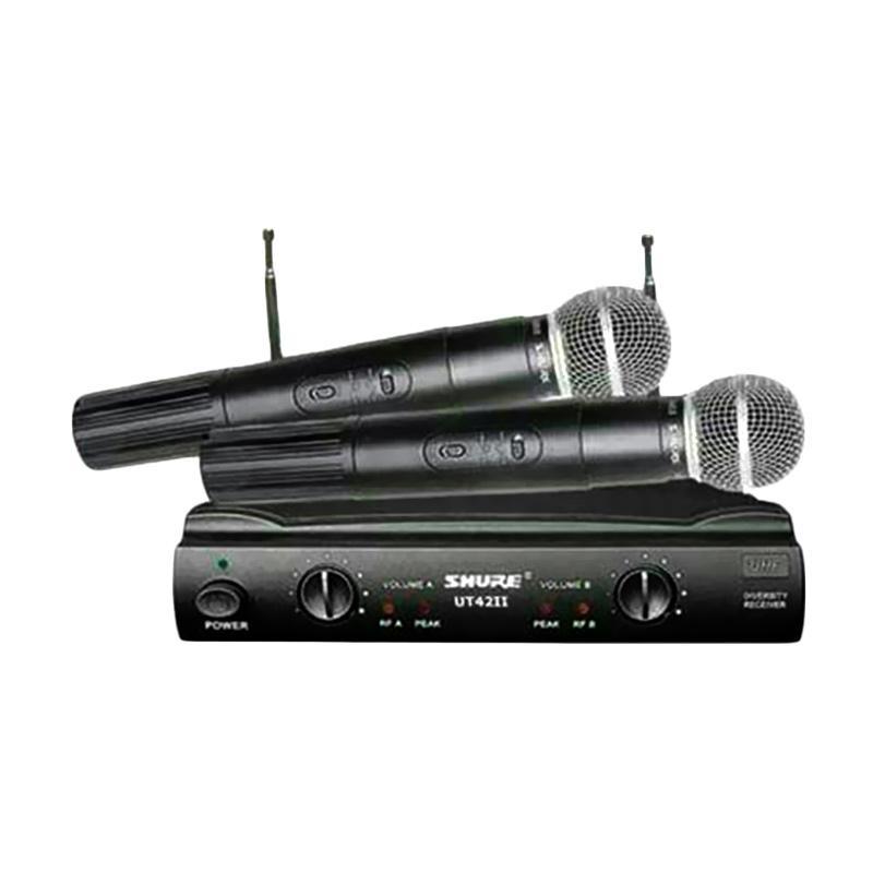 harga Shure Ut 42 Ll Microphone Mic Wireless Blibli.com