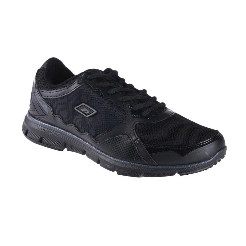 Spotec Genesis Sepatu Running - Black