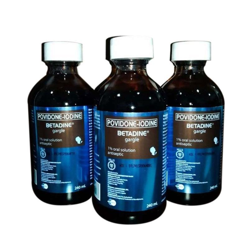 BETADINE Gargle Povidone Iodine 240mL 1PCS