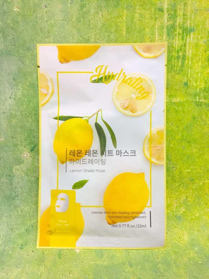 Miniso Official Masker Wajah Peel Off Sheet Mask Nature Hydrate Face mask organik Wanita 1 Pcs